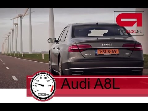 Audi A8L top speed: 0- 250+ km/h