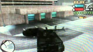 GTA LCS PSP (How To Get The Fireproof Helicopter) No Cheats
