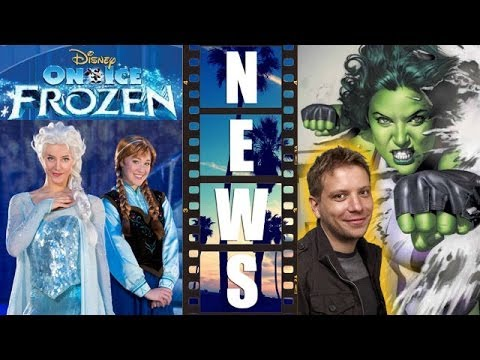 Disney on Ice Frozen, Goyer vs She Hulk, Gareth Edwards for Star Wars 2016 - Beyond The Trailer