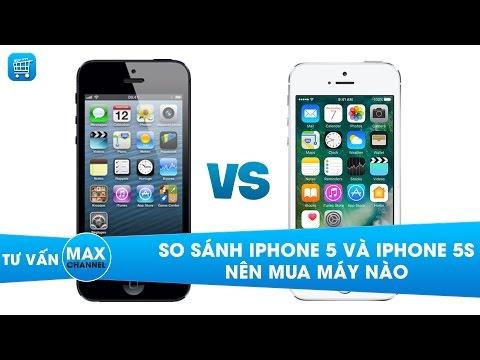 iPhone 5 và 5S: So sánh, đánh giá - nên mua điện thoại nào?