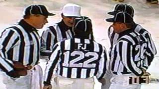1993 Ed Hochuli Snow Game Thanksgiving Dolphins VS Cowboys