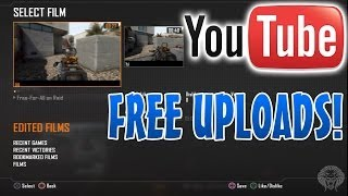 How To Upload Black Ops 2 Theater HD Gameplay To