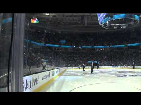 Logan Couture wrister OT goal 2-1 May 18 2013 LA Kings vs SJ Sharks NHL Hockey
