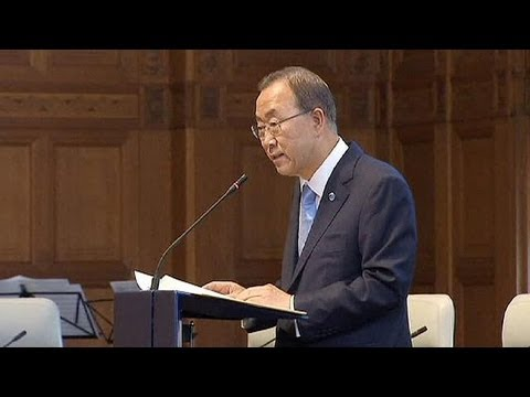 Syria : Ban Ki-moon wants diplomatic solution