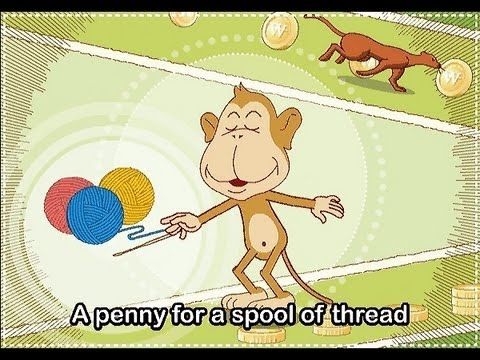 Pop! Goes The Weasel   | nursery rhymes & children songs with lyrics | muffin songs