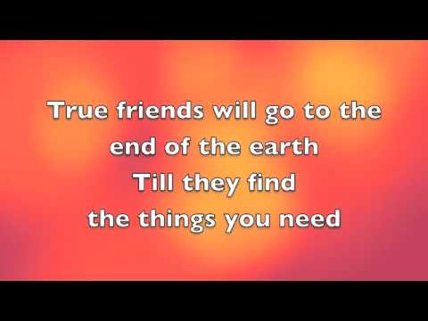 True friend-Miley Cyrus (Lyrics)