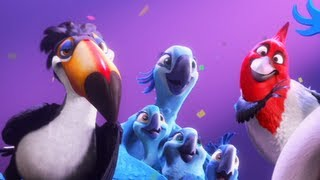 Rio 2 Trailer #2 2014 Movie Official [HD]