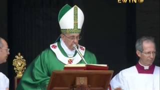 «Ангел Господній» з Папою Франциском у День катехита