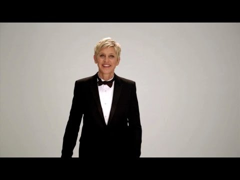 Ellen's Oscars Promo! I'd Like to Thank the Academy