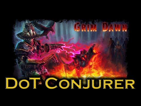 Grim Dawn - DoT Conjurer Build - [Master Melter] (PC Ultra 1080p 60fps)