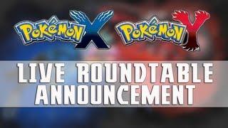 Pokémon X & Pokémon Y LIVE Round-table [2] Announcement