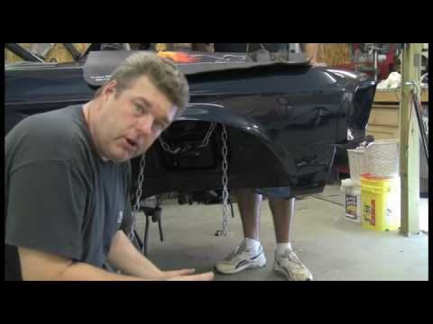 Episode 5 How not to die removing a Mustang, Falcon, Fairlane front suspension Autorestomod .f4v