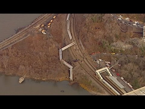 Metro-North Passenger Poughkeepsie to Grand Central Terminal Train Derails in Bronx New York