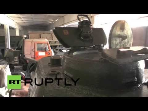 Ukraine: Legendary T-34 ready to roll in Lugansk on Victory Day