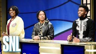Black Jeopardy with Chadwick Boseman - SNL