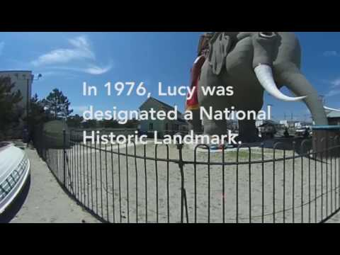 Lucy the Elephant in 360 degrees