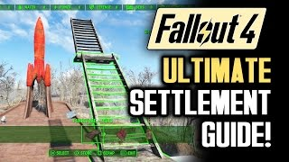 Fallout 4 Tips: ULTIMATE SETTLEMENT BUILDING GUIDE! A Walkthrough of Gameplay Features