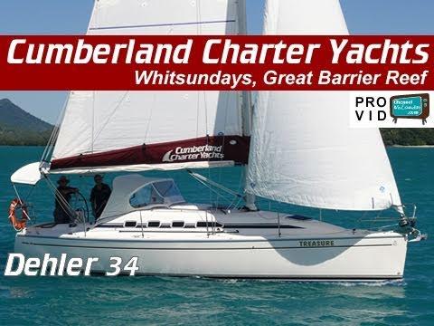 Whitsunday bareboats Whitsundays Dehler 34 Treasure Sailing Yachts