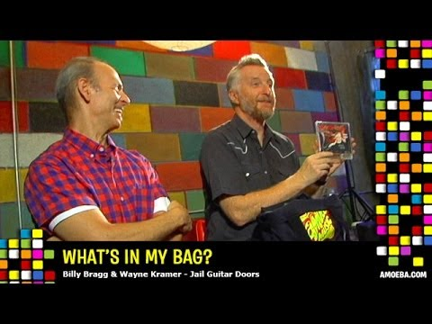 Billy Bragg & Wayne Kramer - What's In My Bag?