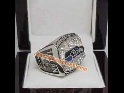NFL 2013 Seattle Seahawks Super Bowl XLVIII Championship Fan Ring, Custom Championship Ring