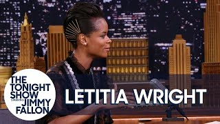 """What Are Those"" Meme Has Black Panther's Letitia Wright's Shoe Game Under Attack"