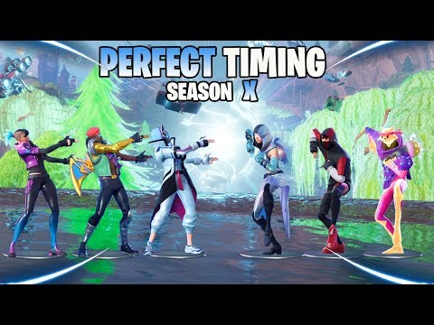 TOP 100 PERFECT TIMING MOMENTS OF SEASON X
