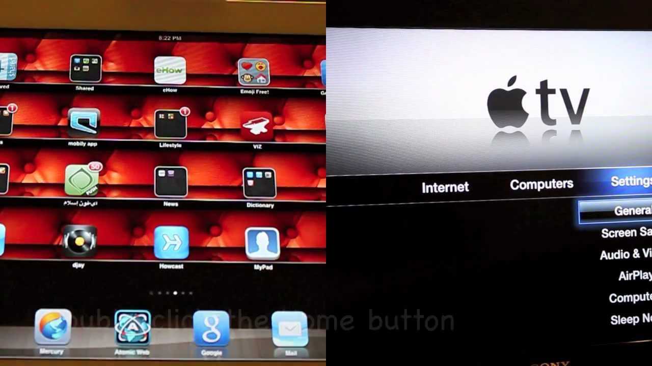 how to connect ipad2 to tv wirelessly