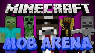 Minecraft 1.6.2 MOB ARENA Server Minigame
