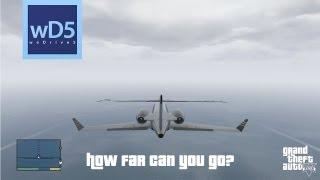 GTA V: How Far Can You Go?