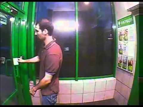 Když se vloupáte od bankomatu! :D