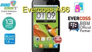 Evercoss A66 Hp Android QuadCore Kamera 13 MP Harga