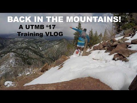 TRAINING FOR UTMB '17: Boulder, CO mountain trails!| Sage Running VLOG