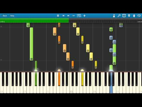 How to play Pompeii by Bastille - Piano Tutorial - Synthesia