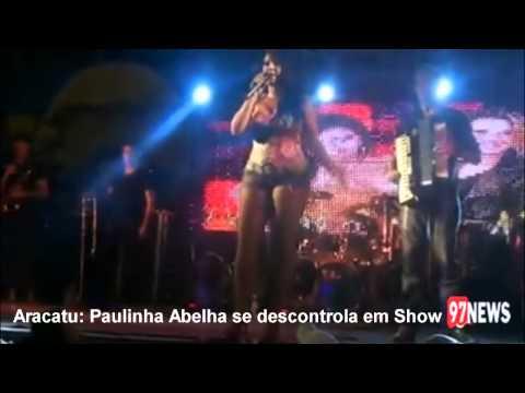 Paulinha Abelha descontrolada