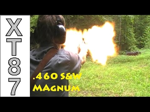 Smith & Wesson .460 Magnum Plinking! [Firing .460, .454, & .45]