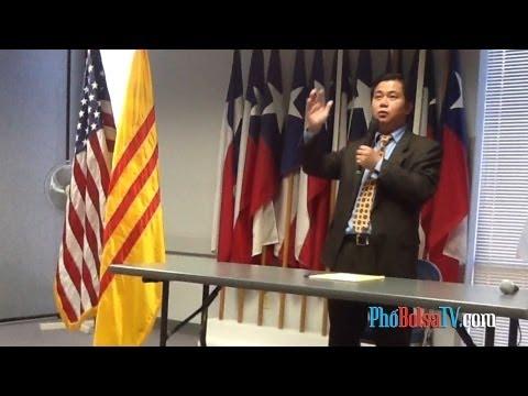 Nghị viên Hoàng Duy Hùng họp báo tường trình và trả lời về chuyến đi Việt Nam (1)