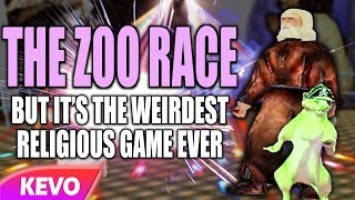 Zoo Race but it's the weirdest religious game ever
