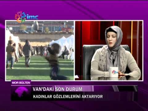 Mor bulten 22 12 11 kadınlar van depremini konuşuyor 1