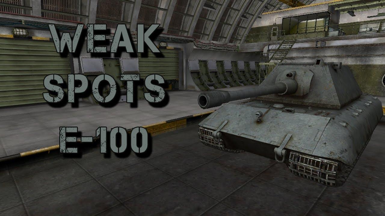 Weak Spot Guide Jagdpanzer E100  WoT Guru