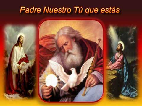 CANCION PADRE NUESTRO TU QUE ESTAS 2 HD KARAOKE