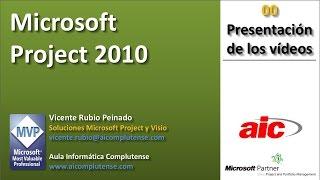 """00 Project 2010 """"Presentación De Los Vídeos"""""""
