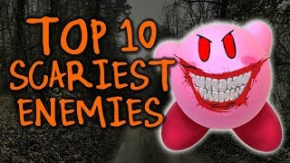 Top 10 SCARIEST Kirby Enemies!