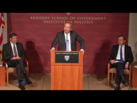 A public address by Mario Draghi | Institute of Politics
