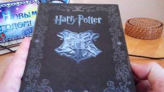 Harry Potter The Complete Blu-Ray 8 Film Limited Edition