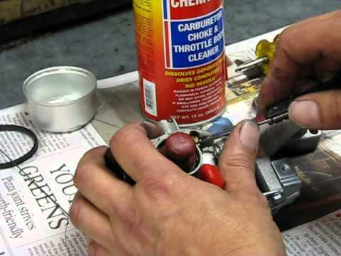 Lawn Mower Repair Part 2: Carburetor Clean and Service, Alameda Repair Shop, Alameda, California