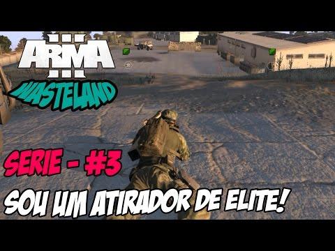 Arma 3 - Wasteland #3 - Atirador de Elite e Completando Missões!