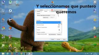 Como Cambiar El Puntero Del Mouse/raton En Windows8