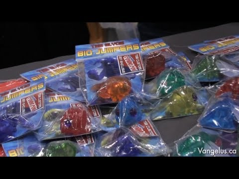 NYCC 2011 - TGB Customs with Marty Hansen (Godbeast.com, Glyos) - Oct 14