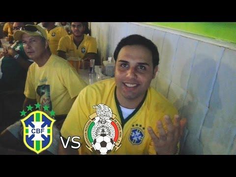FIFA 2014 WORLD CUP REACTIONS : Brazil VS Mexico 6/17/2014