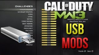 MW3 USB Mods + DOWNLOAD 20th Prestige, All Titles And